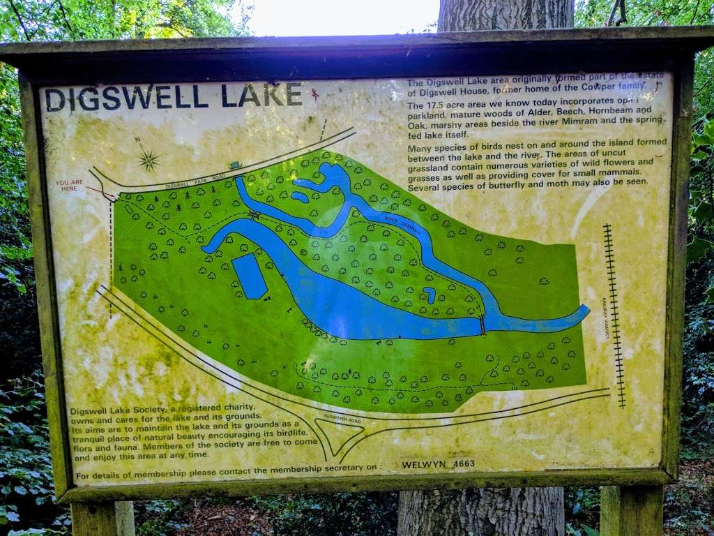 Digswell Lake Nature Reserve - park    Photo 6 of 7   Address: Digswell Park Rd, Welwyn, Welwyn Garden City AL8 7NW, UK   Phone: 0845 003 5253