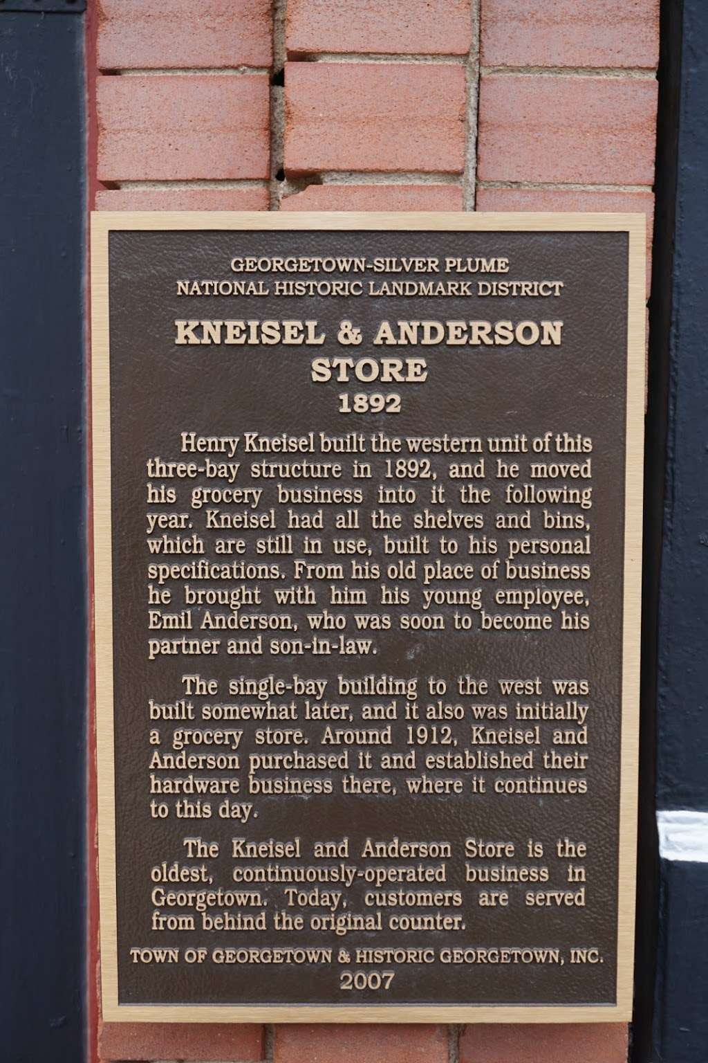 Kneisel & Anderson - store  | Photo 9 of 10 | Address: 511 Sixth St, Georgetown, CO 80444, USA | Phone: (303) 569-2650