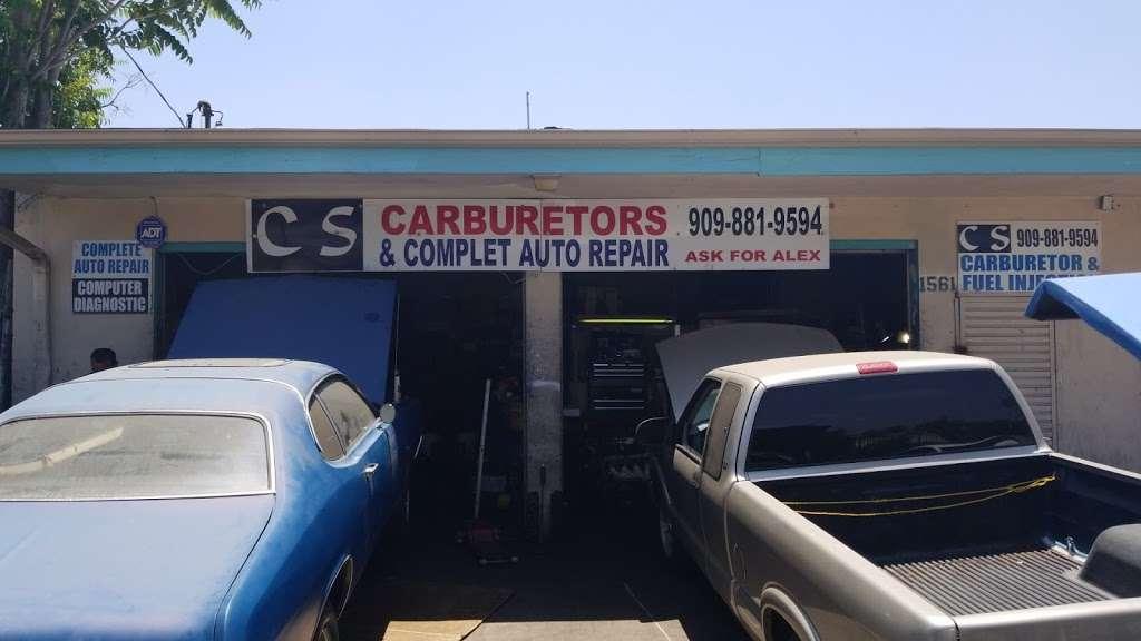 C S Carburetors - car repair  | Photo 4 of 5 | Address: 1561 Carpenter St, San Bernardino, CA 92404, USA | Phone: (909) 881-9594
