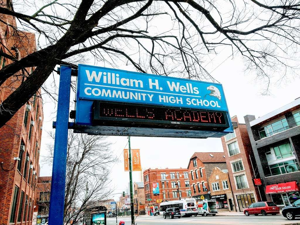 William H. Wells Community Academy High School - school  | Photo 10 of 10 | Address: 936 N Ashland Ave, Chicago, IL 60622, USA | Phone: (773) 534-7010