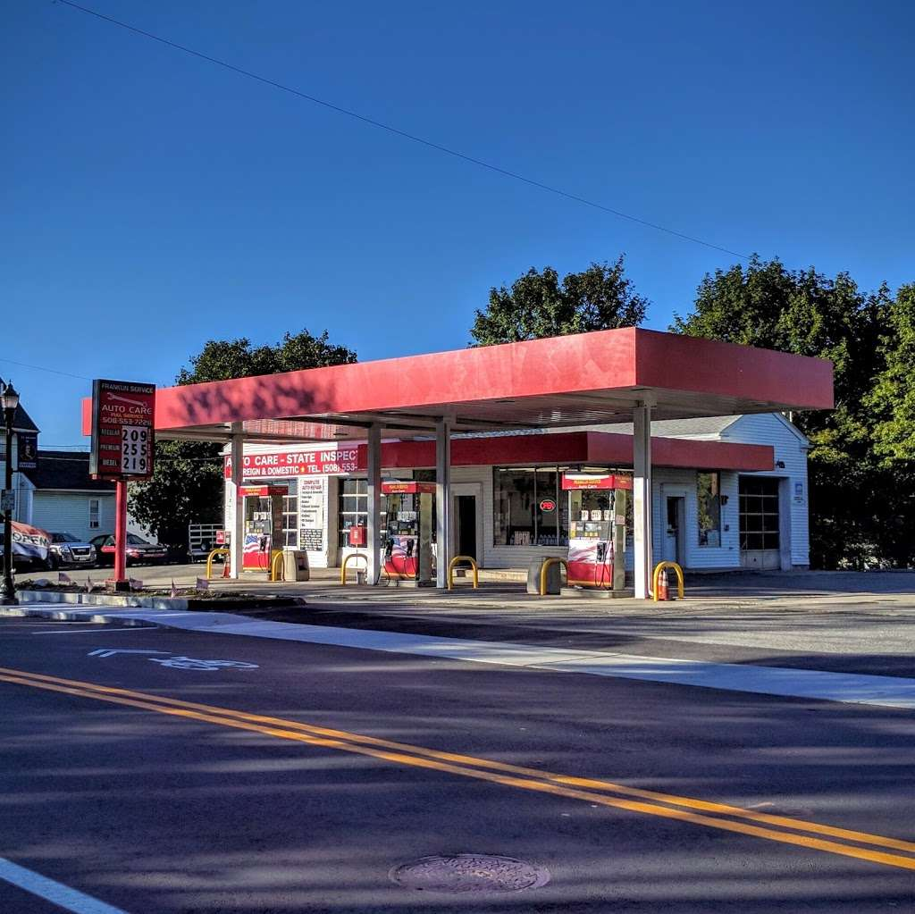 Franklin Gas & Autocare - gas station  | Photo 2 of 10 | Address: 71 East Central Street, Franklin, MA 02038, USA | Phone: (508) 553-7228