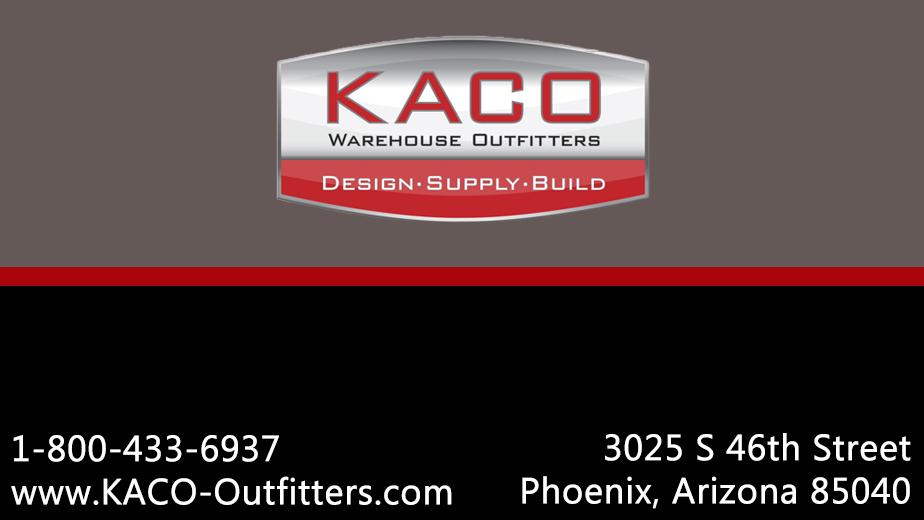 KACO Warehouse Outfitters - moving company    Photo 2 of 2   Address: 3025 S 46th St, Phoenix, AZ 85040, USA   Phone: (602) 437-0167