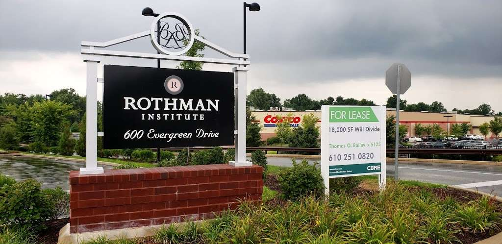 Rothman Orthopaedics - health    Photo 5 of 6   Address: 600 Evergreen Dr #201, Glen Mills, PA 19342, USA   Phone: (800) 321-9999