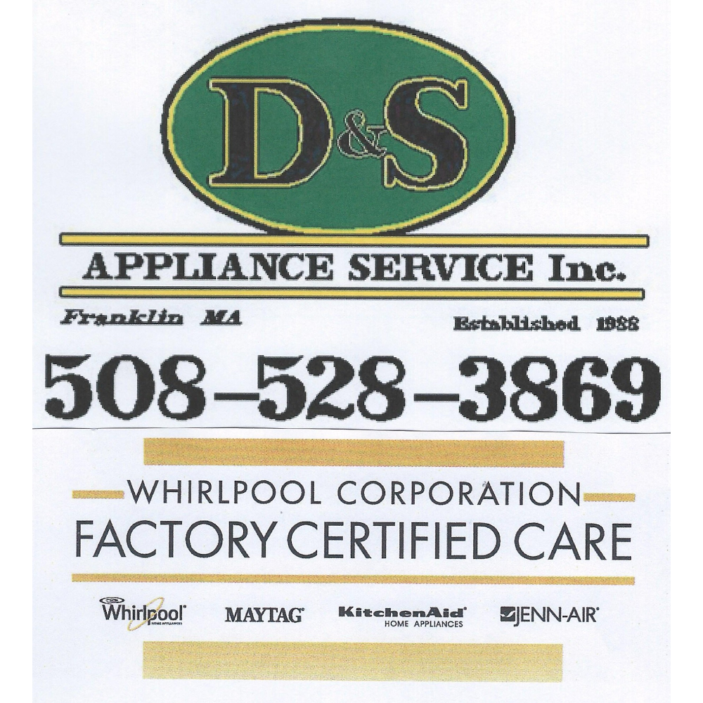 D & S Appliance Services - home goods store  | Photo 3 of 3 | Address: 447 East Central Street # 6, Franklin, MA 02038, USA | Phone: (508) 528-3869