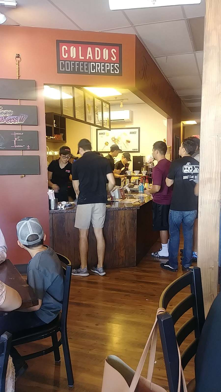 Colados Coffee & Crepes - cafe    Photo 3 of 9   Address: 10685 W Indian School Rd Suite G, Avondale, AZ 85392, USA   Phone: (623) 215-3826