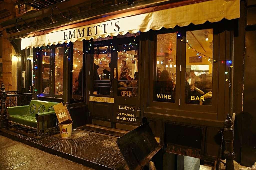 Emmetts - restaurant  | Photo 3 of 10 | Address: 50 Macdougal St, New York, NY 10012, USA | Phone: (917) 639-3571
