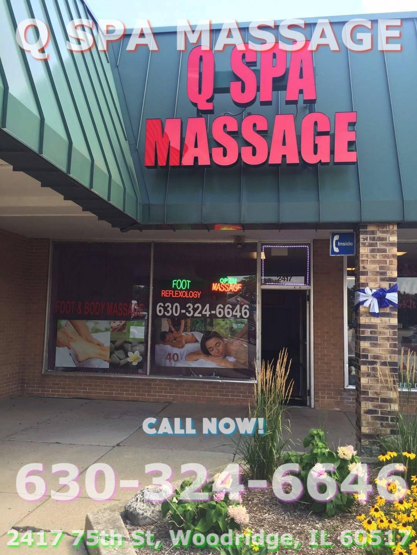 Q Spa Massage - spa  | Photo 1 of 4 | Address: 2417 75th St, Woodridge, IL 60517, United States | Phone: (630) 324-6646
