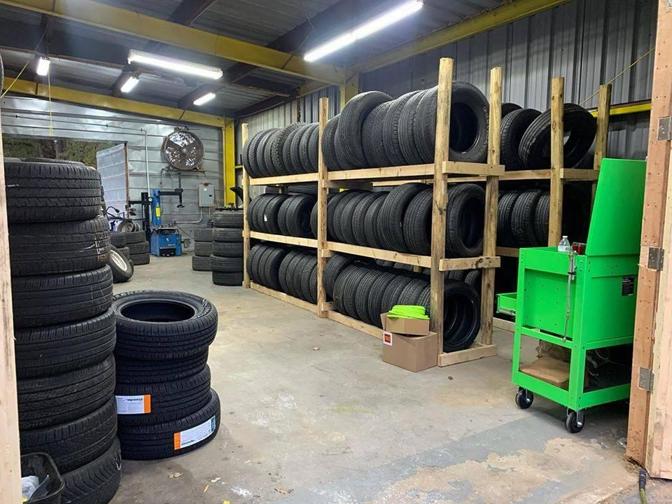 Ellenwood tires llc - car repair  | Photo 1 of 7 | Address: 2837 E Atlanta Rd, Ellenwood, GA 30294, USA | Phone: (832) 577-5135
