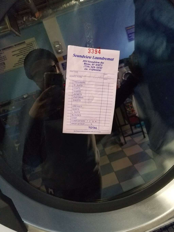 Soundview Laundromat - laundry  | Photo 1 of 1 | Address: 293 Sound View Ave, Bronx, NY 10473, USA | Phone: (718) 328-3250