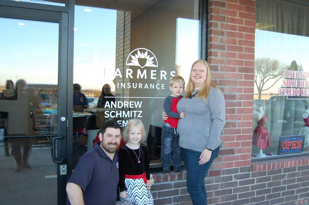 Farmers Insurance - Andrew Schmitz - insurance agency    Photo 1 of 1   Address: 1434 Yankee Doodle Rd, Eagan, MN 55121, USA   Phone: (651) 456-8834