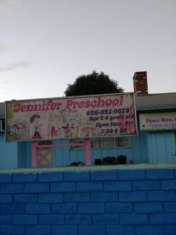 Jennifer Preschool - school  | Photo 1 of 1 | Address: 4149 Live Oak Ave, Arcadia, CA 91006, USA | Phone: (626) 823-7812
