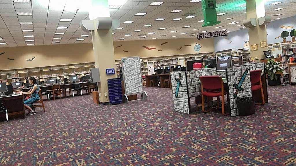 Sterling Municipal Library - library  | Photo 9 of 9 | Address: 4258, 1 Mary Elizabeth Wilbanks Ave, Baytown, TX 77520, USA | Phone: (281) 427-7331