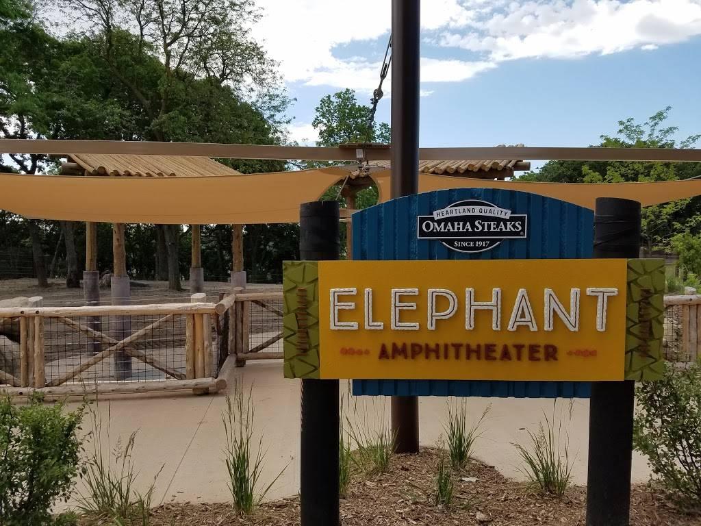 Elephant Amphitheater - zoo    Photo 6 of 10   Address: 3901-, 3999 S River Dr, Omaha, NE 68108, USA   Phone: (402) 733-8400