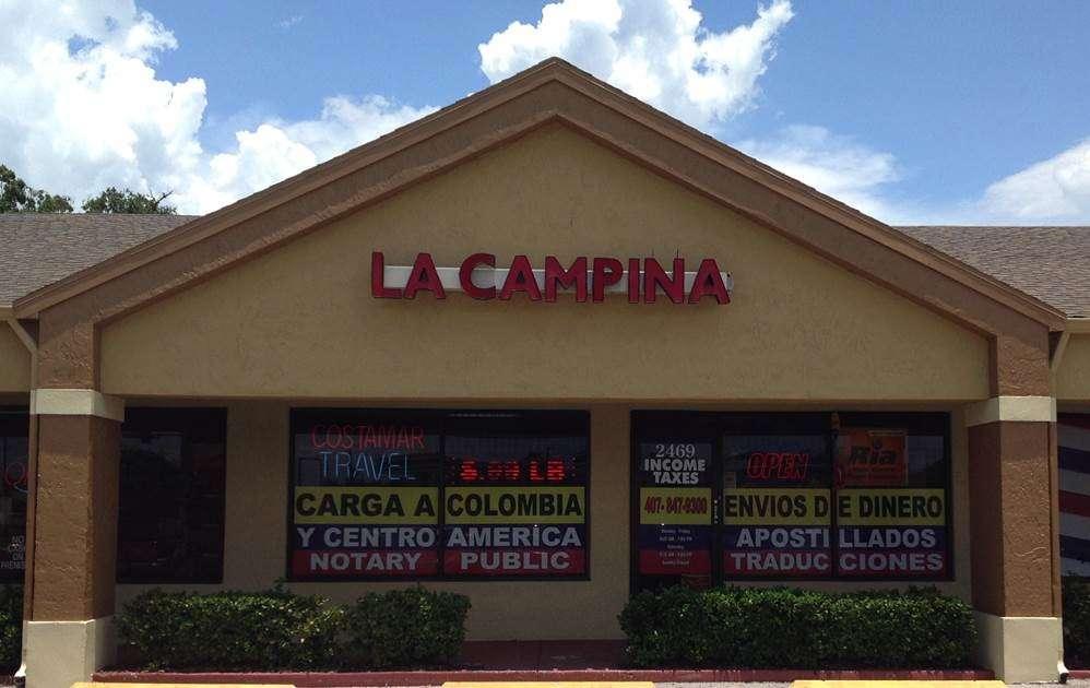 Campina Envios - La Campina de Kissimmee - travel agency  | Photo 10 of 10 | Address: 2469 Michigan Ave, Kissimmee, FL 34744, USA | Phone: (407) 847-9300
