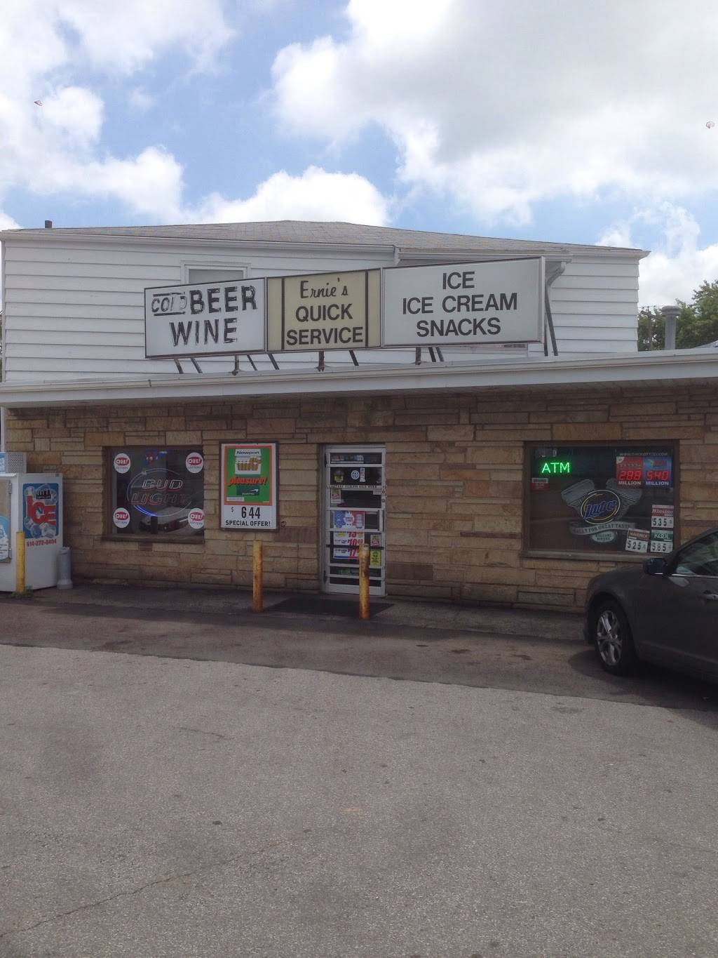 Ernies Carry Out - convenience store    Photo 1 of 10   Address: 4340 Broadway, Grove City, OH 43123, USA   Phone: (614) 875-6465