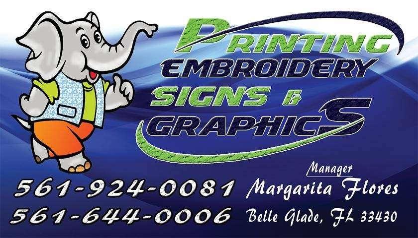 Elephant Imprints - store  | Photo 1 of 1 | Address: 607 S Main St #106, Belle Glade, FL 33430, USA | Phone: (561) 924-0081