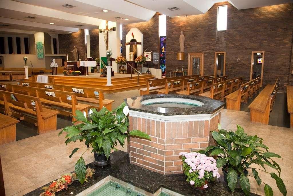 St Damian Catholic Church - church    Photo 3 of 10   Address: 5250 155th St, Oak Forest, IL 60452, USA   Phone: (708) 687-1370