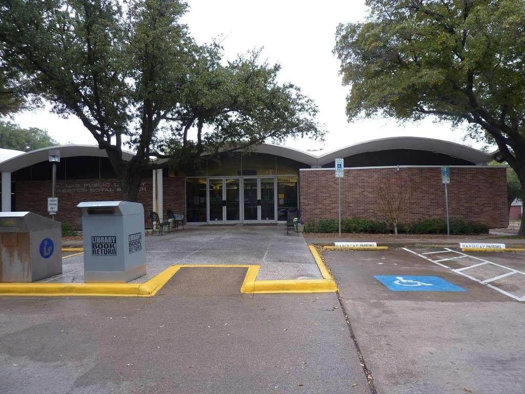 Preston Royal Branch Library - library  | Photo 1 of 1 | Address: 5626 Royal Ln, Dallas, TX 75229, USA | Phone: (214) 670-7128