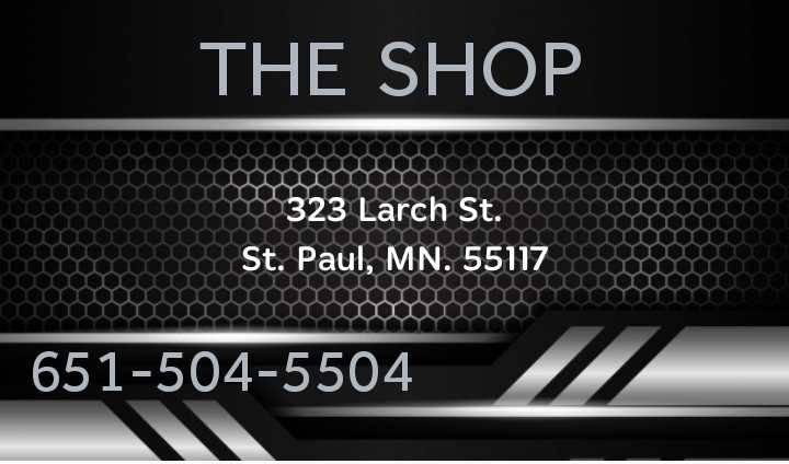 The Shop - car repair  | Photo 1 of 1 | Address: 323 Larch St, St Paul, MN 55117, USA | Phone: (651) 504-5504