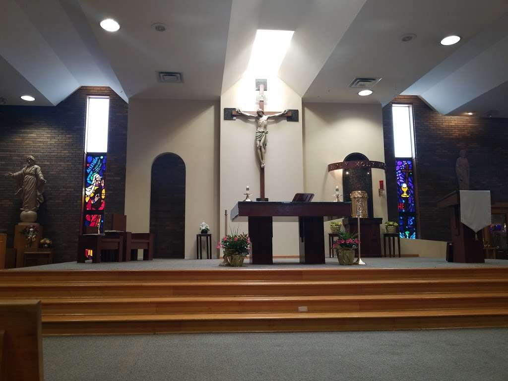 St Damian Catholic Church - church    Photo 6 of 10   Address: 5250 155th St, Oak Forest, IL 60452, USA   Phone: (708) 687-1370