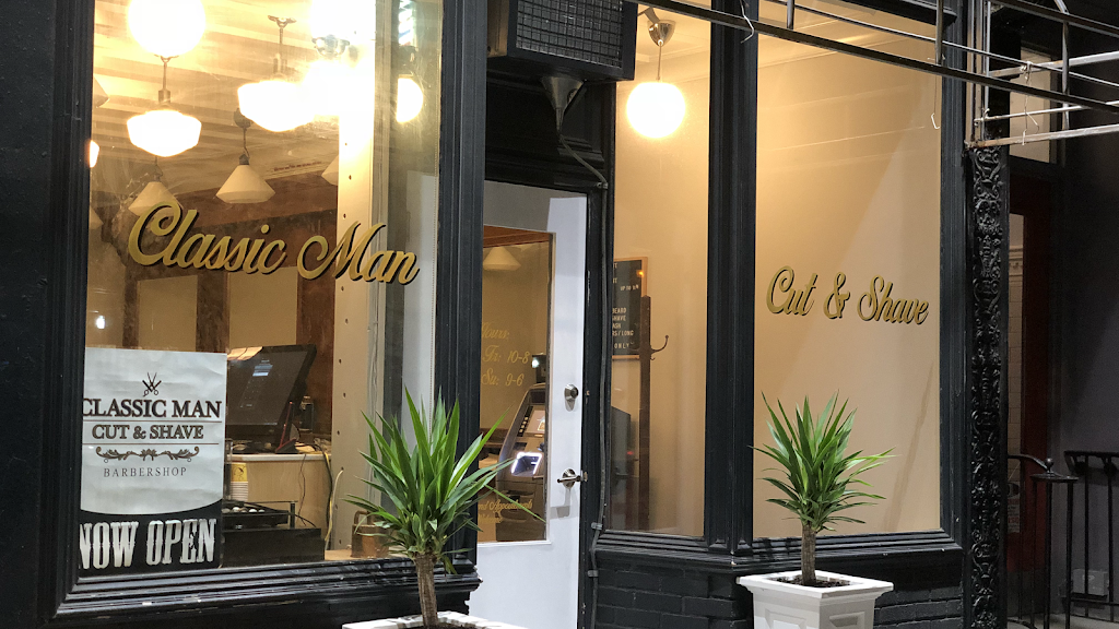 Classic Man Cut & Shave (Soho) - hair care  | Photo 1 of 10 | Address: 64 Macdougal St, New York, NY 10012, USA | Phone: (646) 850-1888
