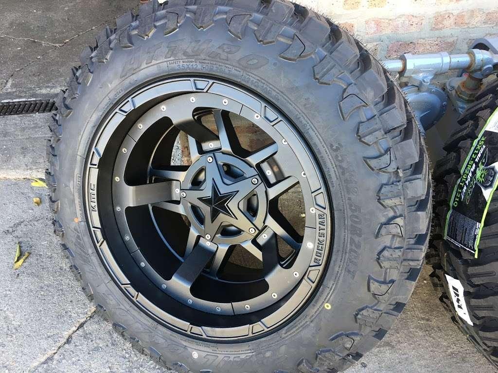 Rim Shop The Chrome Depot Wheels Tires Financing - car repair  | Photo 4 of 10 | Address: 1626 S Cicero Ave, Cicero, IL 60804, USA | Phone: (708) 776-3119
