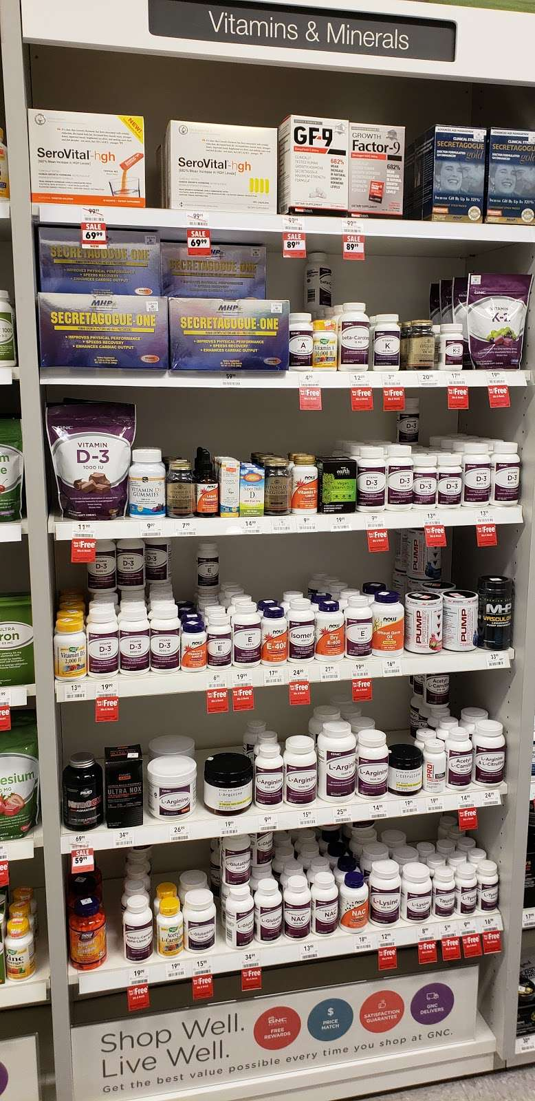 GNC - store  | Photo 9 of 10 | Address: 725 River Rd, Edgewater, NJ 07020, USA | Phone: (201) 941-5430