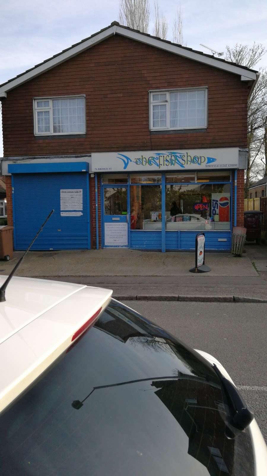 The Fish Shop - meal takeaway  | Photo 7 of 7 | Address: 7B Bridge St, Writtle, Chelmsford CM1 3EY, UK | Phone: 01245 420890
