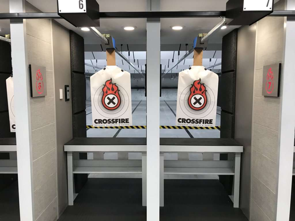 Crossfire Defense Academy & Range - gym  | Photo 1 of 10 | Address: 801 Patriot Way, Flower Mound, TX 75028, USA | Phone: (469) 702-0350