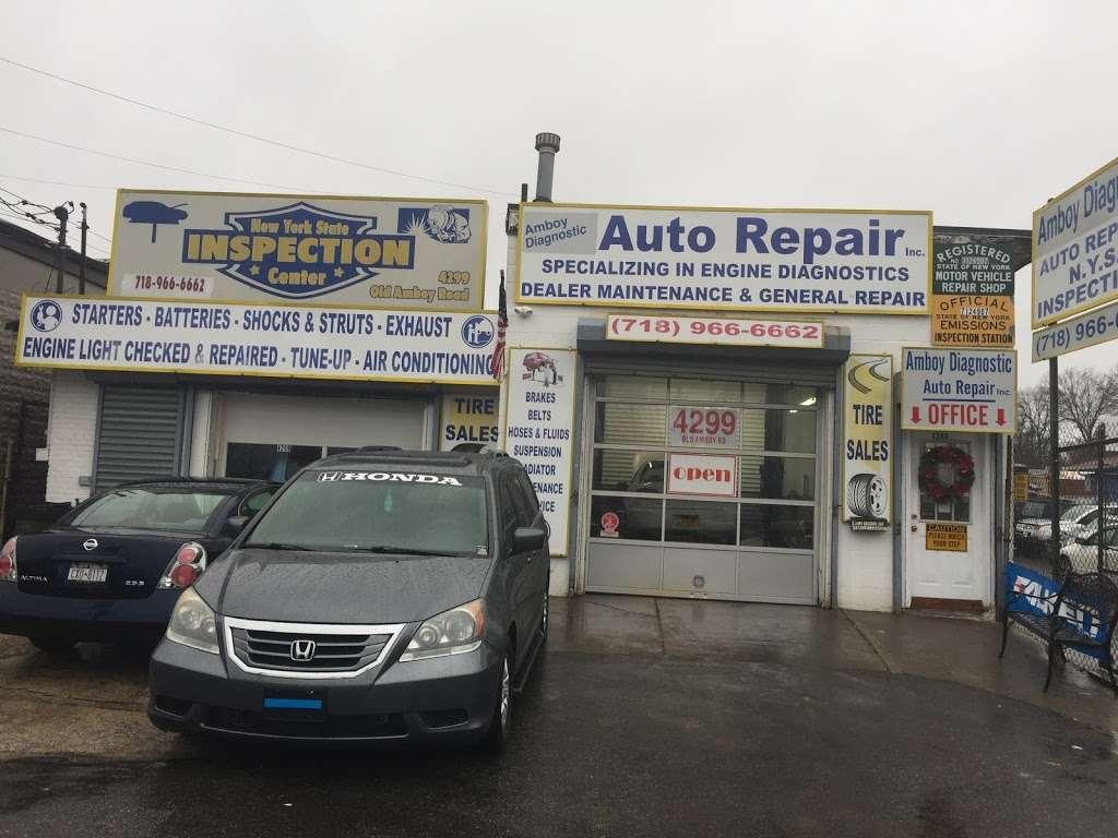 Amboy Diagnostic Auto Repair - car repair  | Photo 1 of 1 | Address: 4299 Old Amboy Rd, Staten Island, NY 10312, USA | Phone: (718) 966-6662