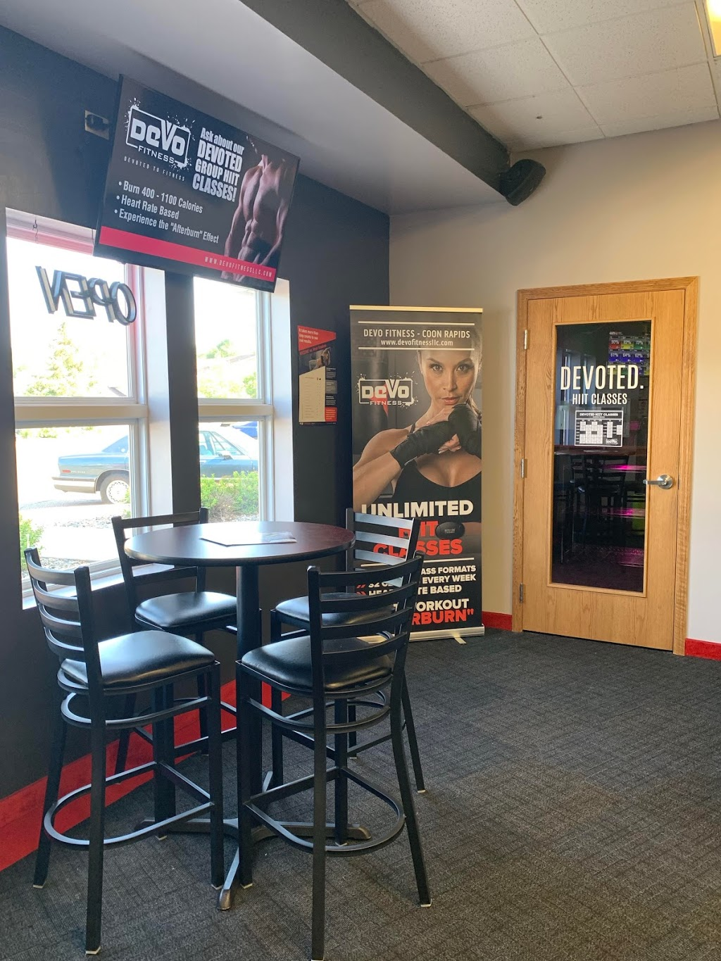 Devo Fitness - gym    Photo 5 of 8   Address: 455 99th Ave NW #170, Coon Rapids, MN 55433, USA   Phone: (763) 762-6914