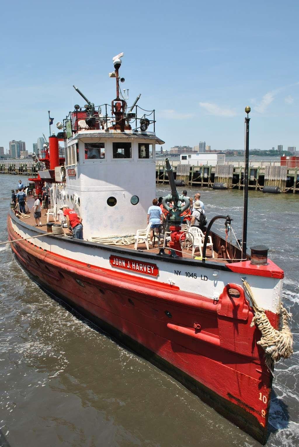 John J. Harvey Fireboat - store  | Photo 9 of 10 | Address: Hudson River Greenway, New York, NY 10005, USA