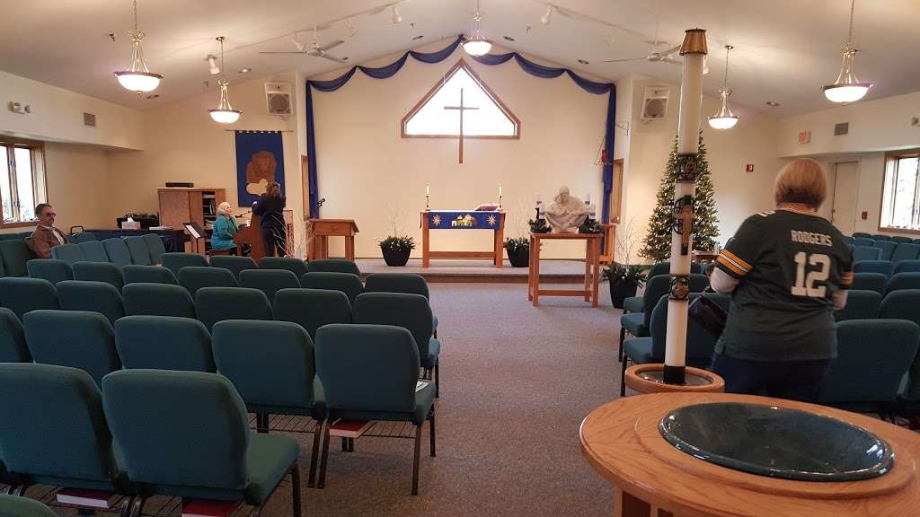 Resurrection Lutheran Church - church  | Photo 3 of 10 | Address: 12400 W Cold Spring Rd, New Berlin, WI 53151, USA | Phone: (262) 786-8880