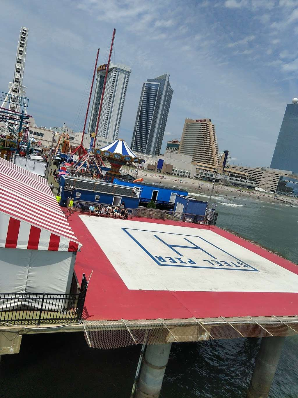 Steel Pier Helicopters - airport  | Photo 7 of 10 | Address: 1000 Boardwalk, Atlantic City, NJ 08401, USA | Phone: (732) 245-3306
