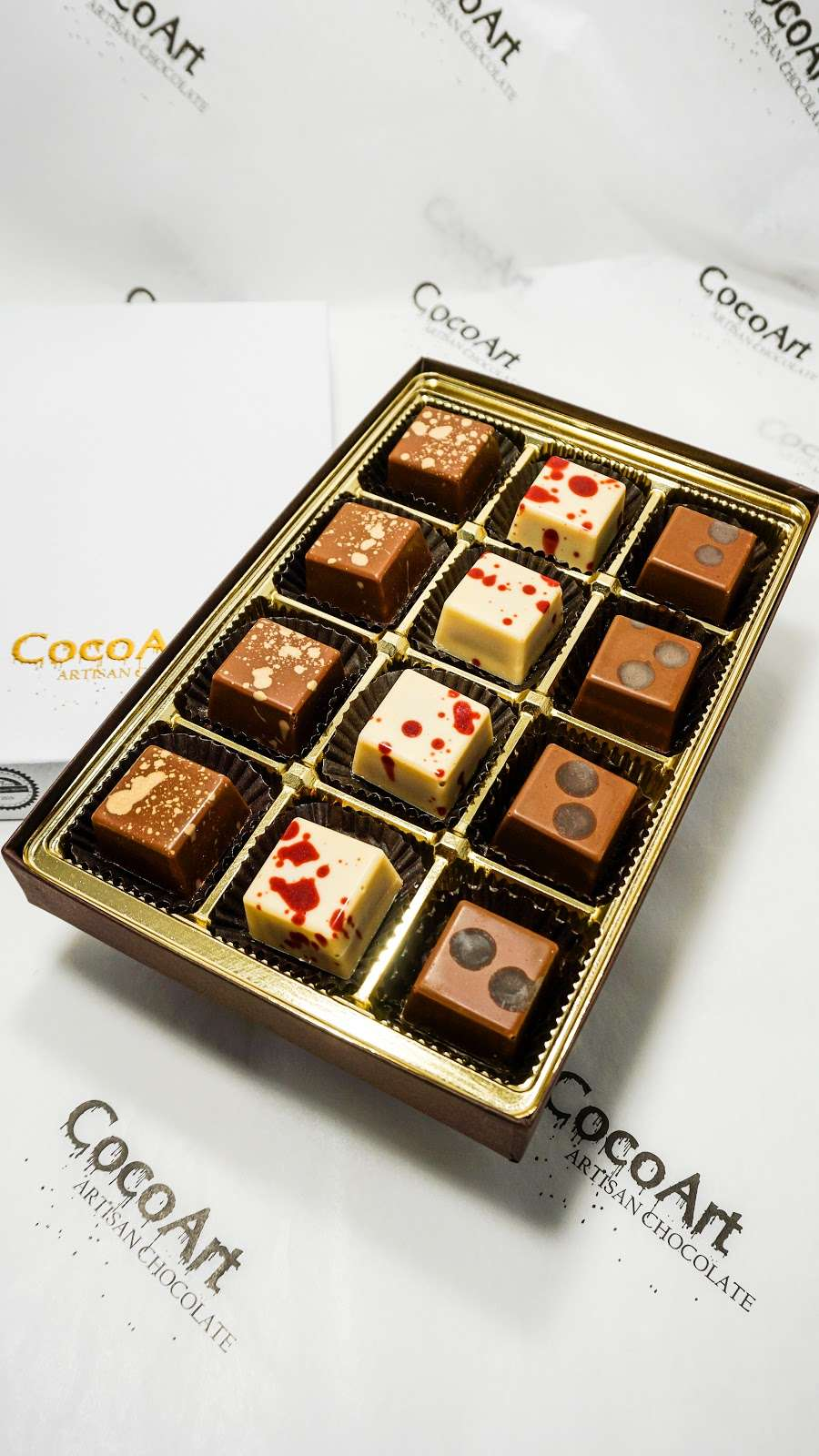 CocoArt Chocolate - store    Photo 6 of 10   Address: 20 Prag Blvd #002, Monroe, NY 10950, USA   Phone: (845) 248-1617