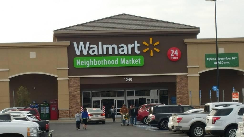 Walmart Neighborhood Market - supermarket    Photo 4 of 10   Address: 1249 Allen Rd, Bakersfield, CA 93314, USA   Phone: (661) 535-6373