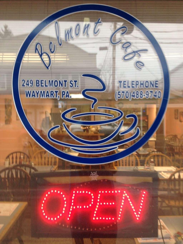 The Belmont Cafe - cafe    Photo 5 of 9   Address: 249 Belmont St, Waymart, PA 18472, USA   Phone: (570) 488-9740