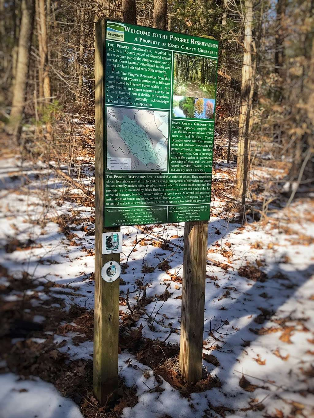 Pingree Woodlot Trail - campground  | Photo 2 of 2 | Address: Cutler Rd, Essex, MA 01929, USA | Phone: (978) 768-7241