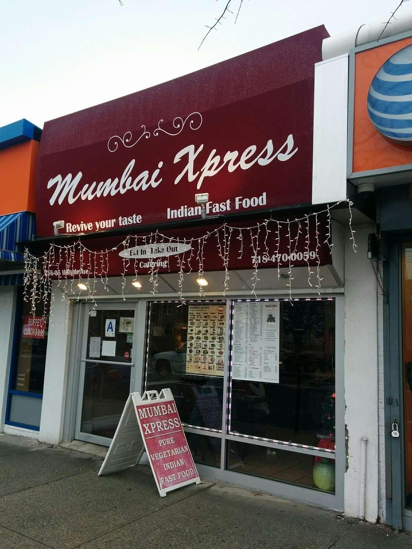 Mumbai Xpress - restaurant    Photo 2 of 10   Address: 256-05 Hillside Avenue, Queens, NY 11004, USA   Phone: (718) 470-0059