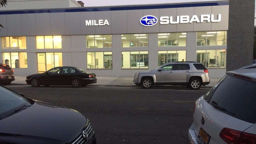 Milea Subaru - car dealer  | Photo 2 of 10 | Address: 3201 E Tremont Ave, Bronx, NY 10461, USA | Phone: (718) 829-8200