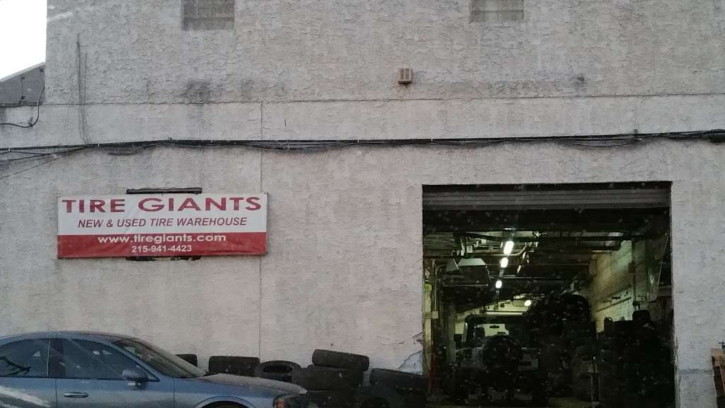 Tire Giants - car repair    Photo 2 of 10   Address: 8301 Torresdale Ave, Philadelphia, PA 19136, USA   Phone: (215) 941-4423