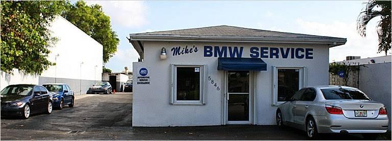 Mikes Beemer Shop - car repair    Photo 5 of 5   Address: 5846 SW 68th St, South Miami, FL 33143, USA   Phone: (305) 661-3311