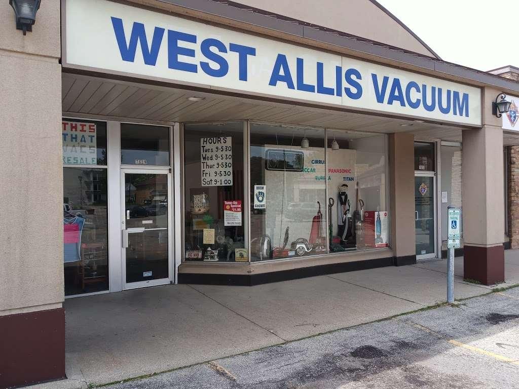West Allis Vacuum Center - home goods store    Photo 1 of 6   Address: 7629 W Beloit Rd, West Allis, WI 53219, USA   Phone: (414) 543-9181