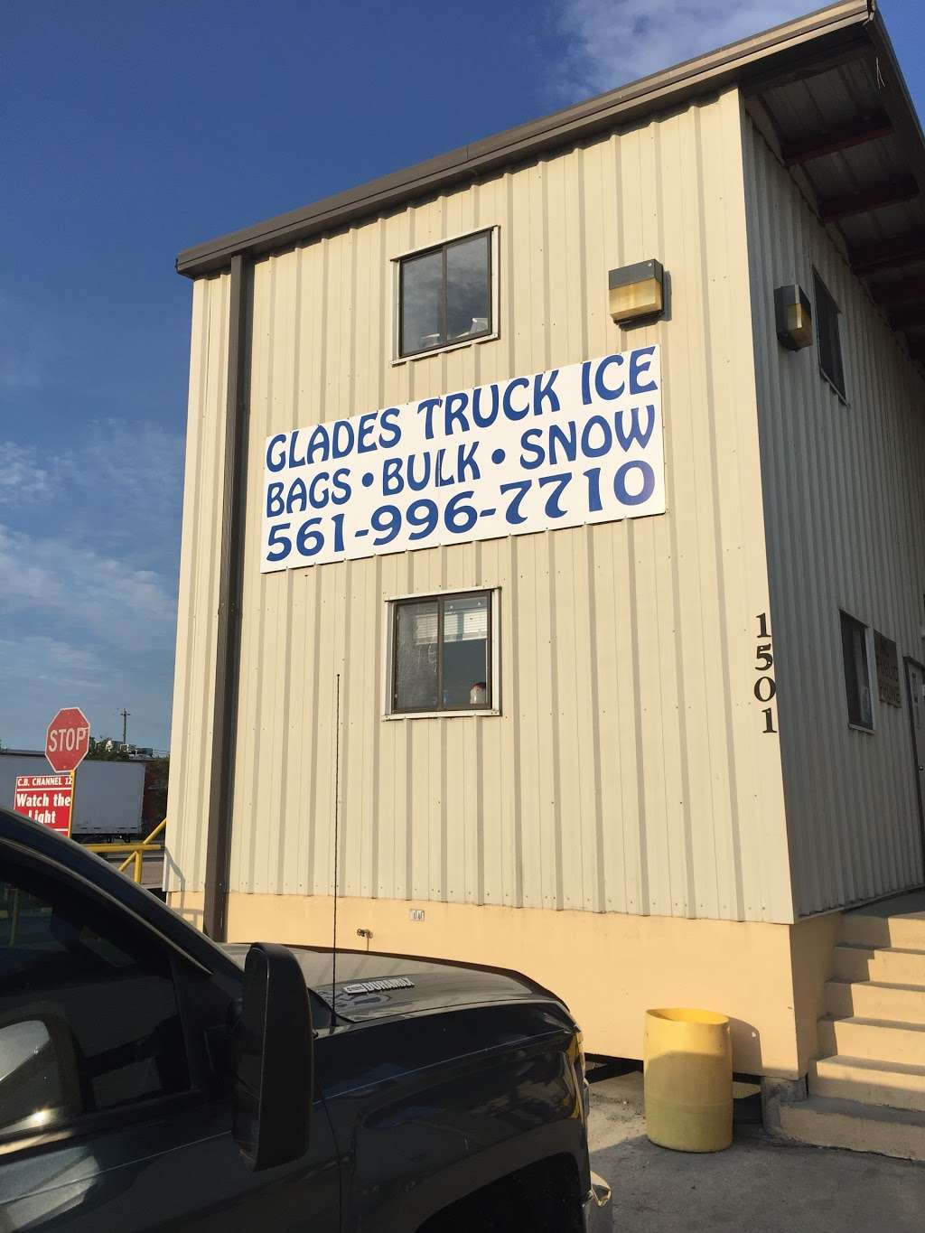 Glades Truck Ice Inc - store  | Photo 5 of 9 | Address: 1501 S Main St, Belle Glade, FL 33430, USA | Phone: (561) 996-7710