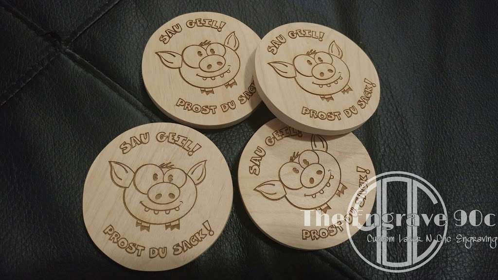 The engrave 90c Custom laser -cnc engraving - cutting services A - home goods store    Photo 10 of 10   Address: 36743 Spanish Broom Dr, Palmdale, CA 93550, USA   Phone: (323) 529-3612