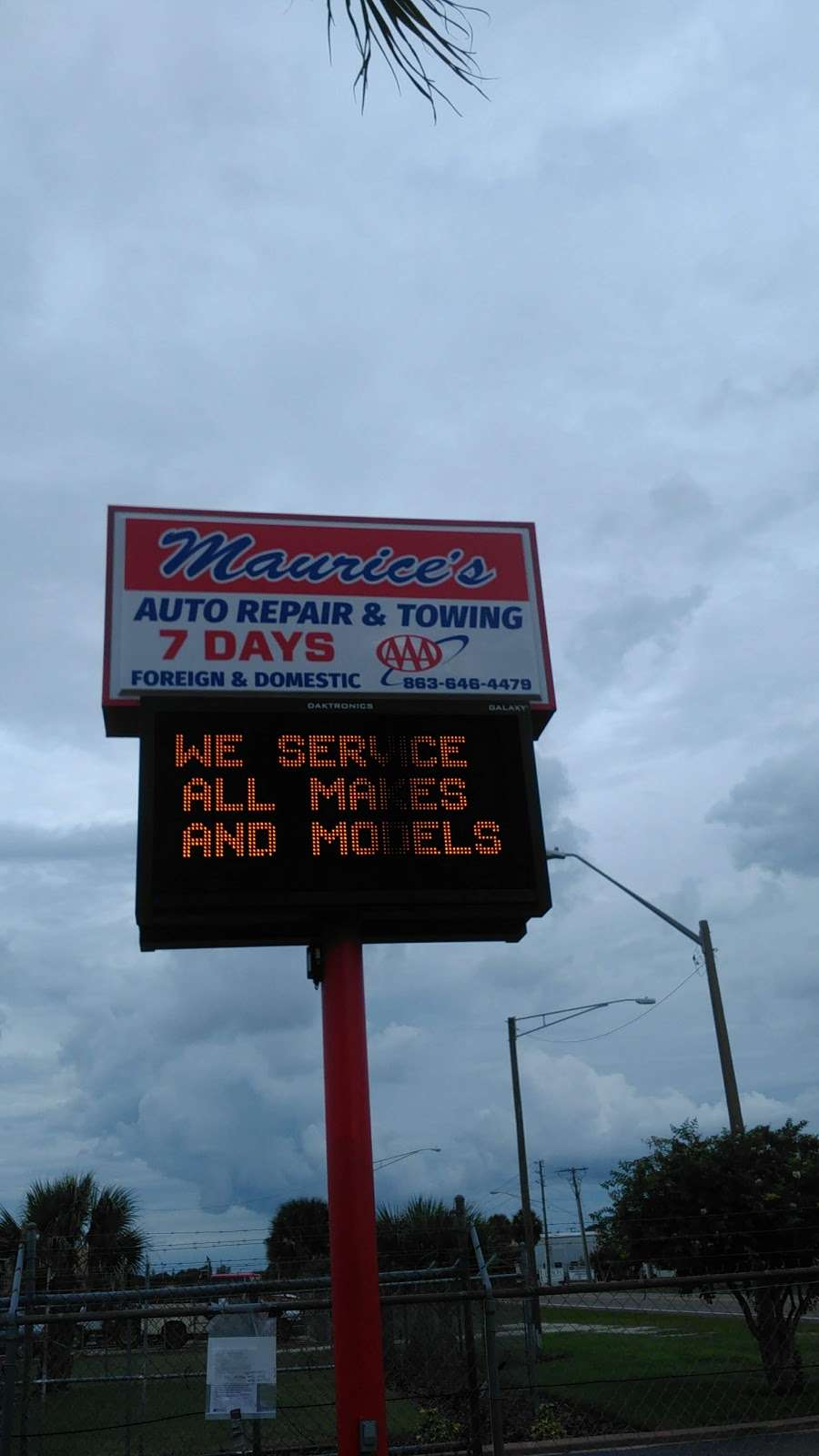 Maurices Auto Repair and Towing - car repair  | Photo 5 of 10 | Address: 3025 Drane Field Rd, Lakeland, FL 33811, USA | Phone: (863) 646-4479