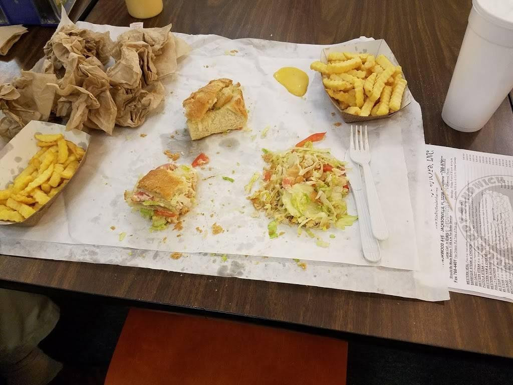 Blue Boy Sandwich Shop - restaurant  | Photo 6 of 10 | Address: 6514 Norwood Ave, Jacksonville, FL 32208, USA | Phone: (904) 768-9791