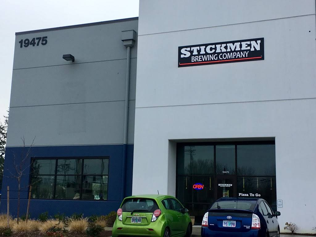 Stickmen Brewing Company (Tualatin Beer Hall) - restaurant  | Photo 8 of 9 | Address: 19475 SW 118th Ave Suite 1, Tualatin, OR 97062, USA | Phone: (503) 486-7197