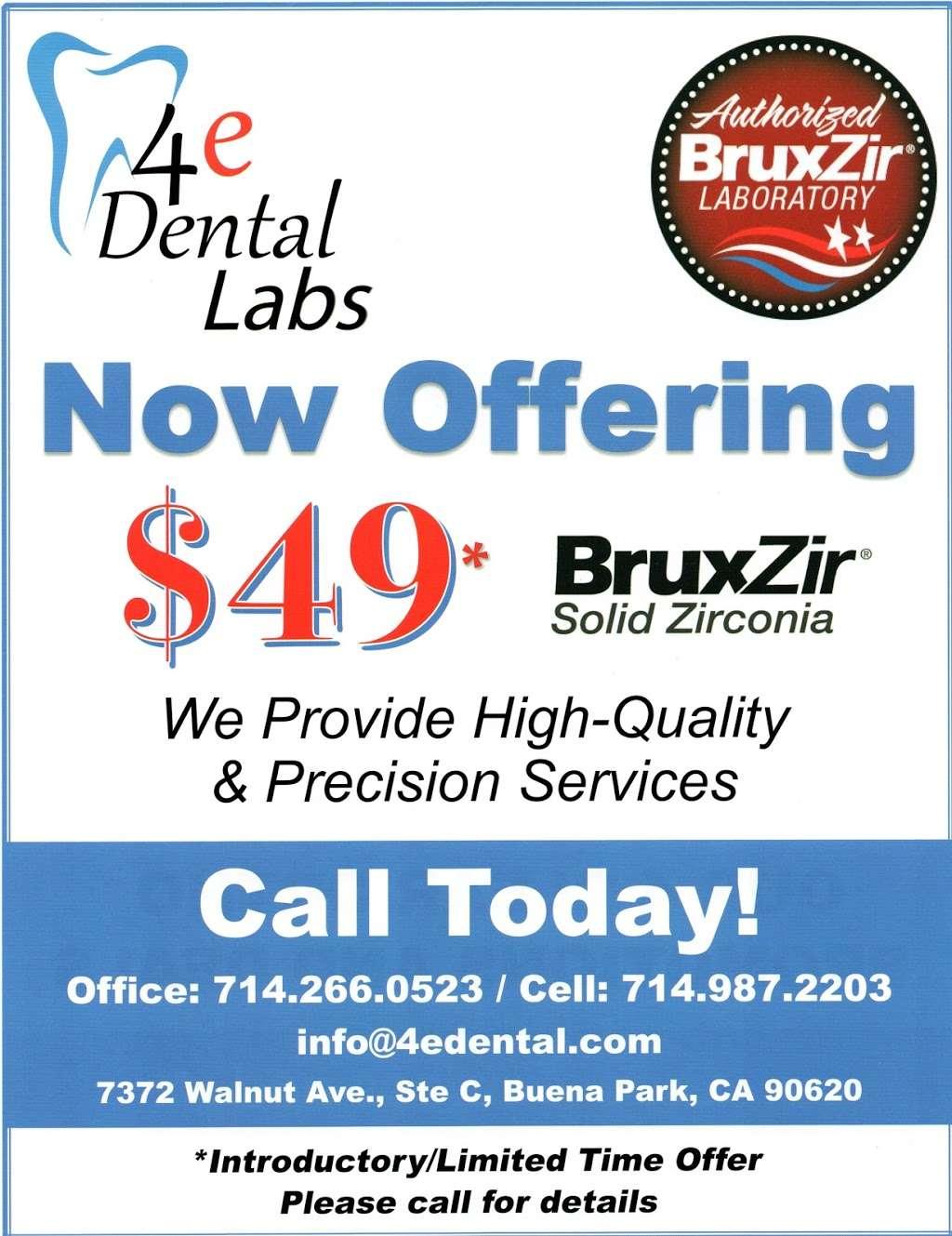 4e Dental Lab - dentist  | Photo 10 of 13 | Address: 7372 Walnut Ave suite # c, Buena Park, CA 90620, USA | Phone: (714) 266-0523