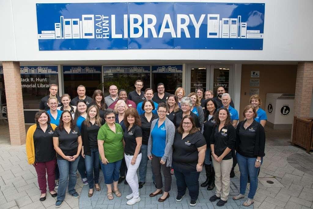 Jack R. Hunt Library - library  | Photo 7 of 10 | Address: 1 Aerospace Blvd, Daytona Beach, FL 32114, USA | Phone: (800) 678-9428
